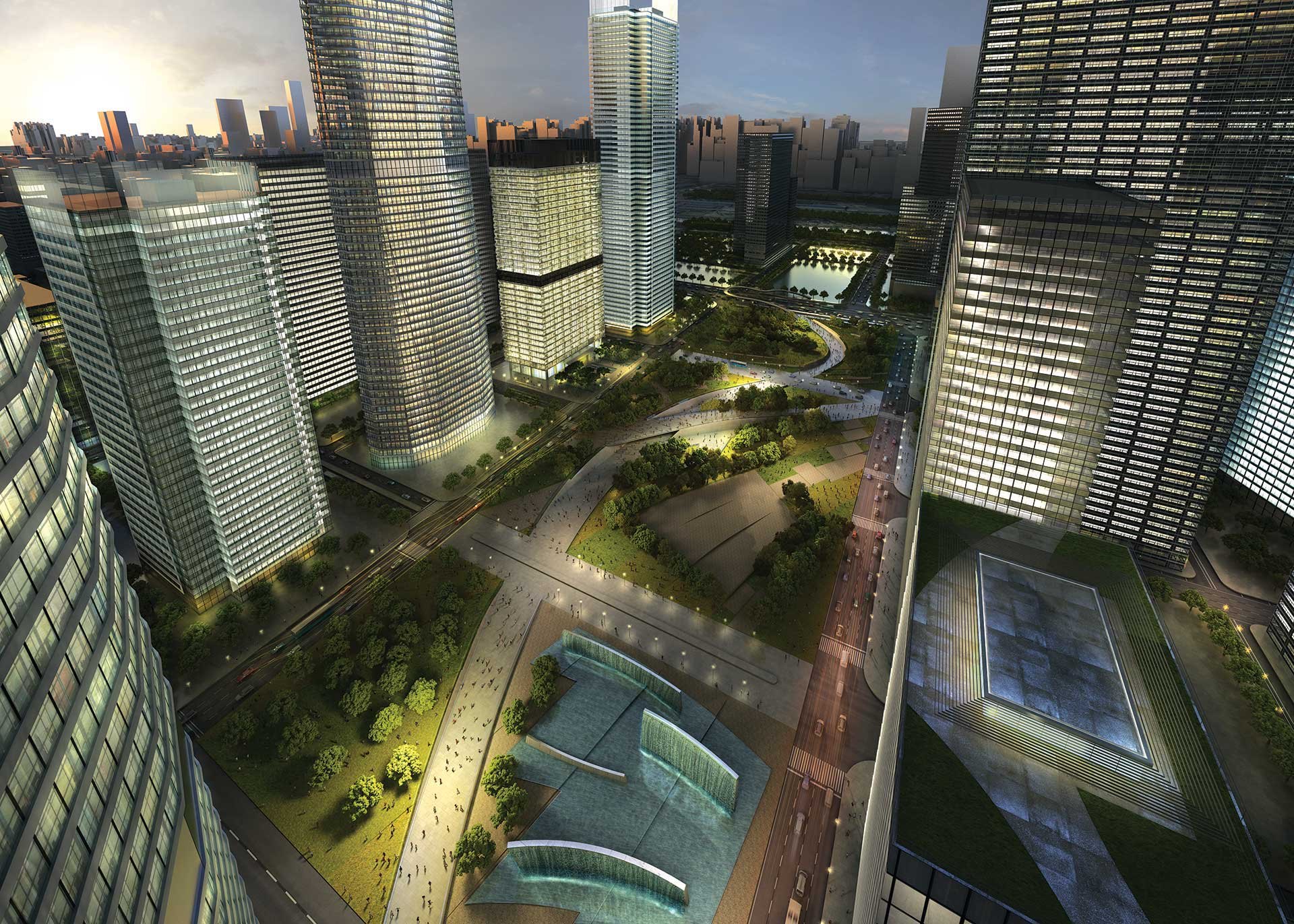 Beijing Core Area Master Plan