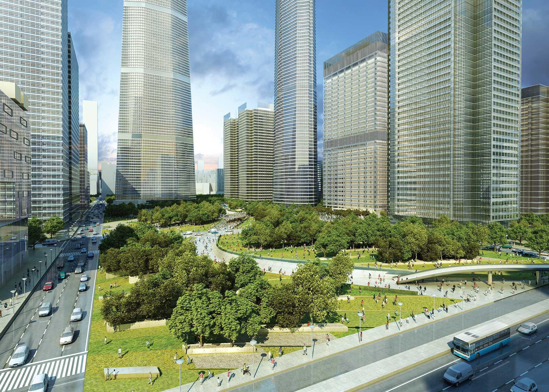 Beijing Core Area Master Plan